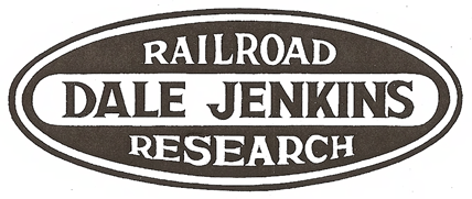 Dale Jenkins Railroad Research Logo