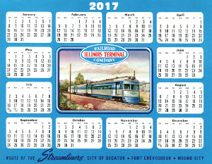 2017 Illinois Terminal Desk Calendar